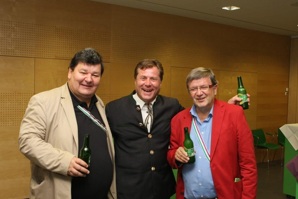 Phil-x Schwiegerpapa mit AH Jussuf und AH Dr. cer. Green